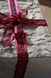 emballage cadeau vieux papier