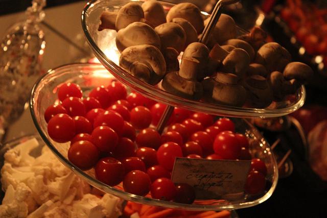 Halloween repas de vampires nourriture