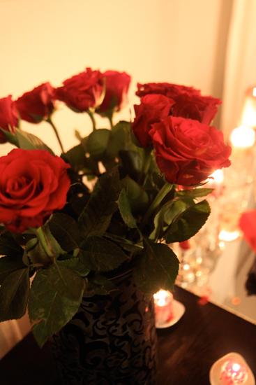 Halloween repas de vampires roses