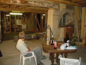 vivre dans une maison en chantier