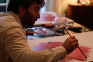 créer sa propre oeuvre d'art peinture