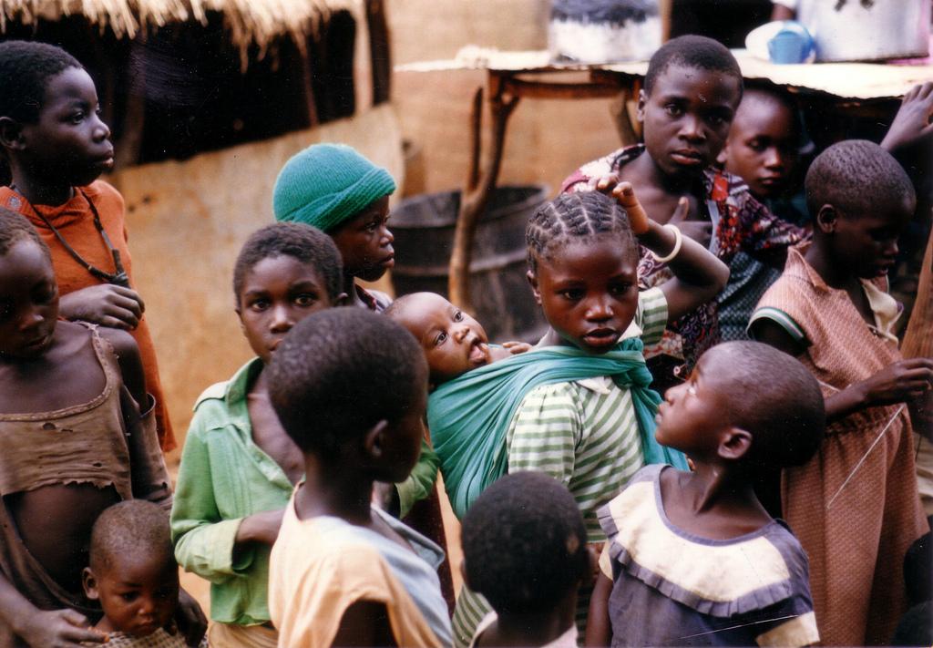 enfants africains