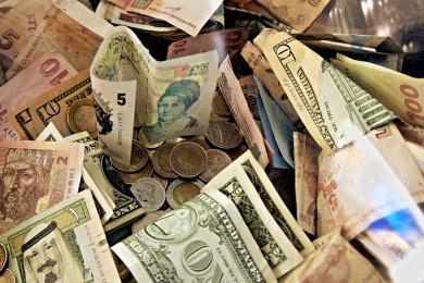 argent billets pièces
