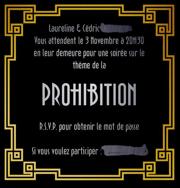 Tutoriel : soirée années 1920, prohibition et speakeasy ...