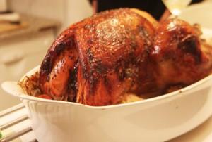 menu Thanksgiving dinde