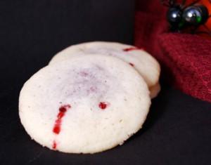 nourriture Halloween cookies sang