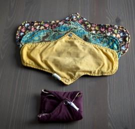 serviettes hygiéniques lavables - PLIM