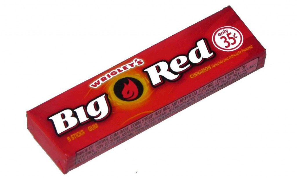 chewing gum cannelle big red