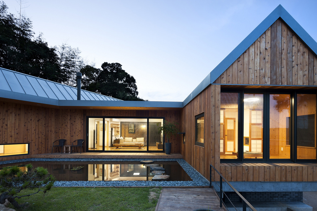 Comment j 39 ai rejoint le r ve de maison en bois de mon mari for Photos contemporaines