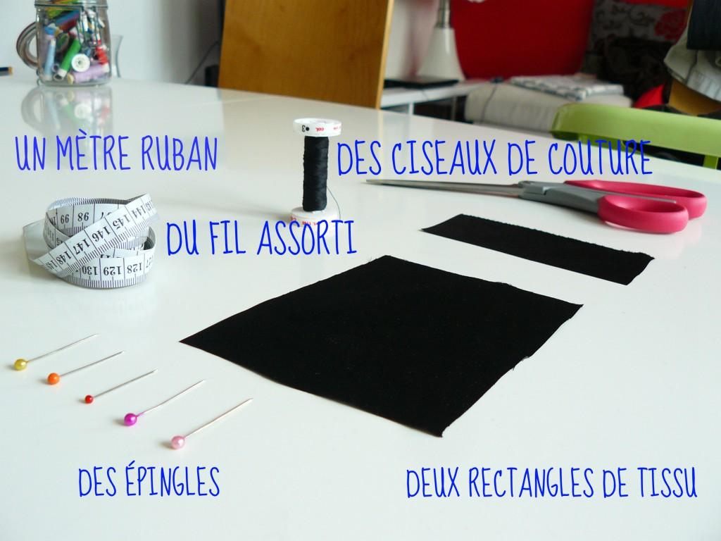 matériel - tutoriel DIY barette pour ajuster les vêtements