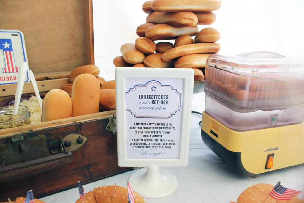 Connu Une fête thème USA : buffet et recettes | Sous Notre Toit CX36
