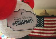 Organiser une fête aux couleurs des USA