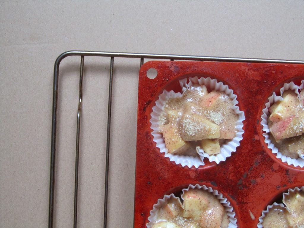 Petits cakes aux pomme et à la cannelle, une recette facile et rapide !