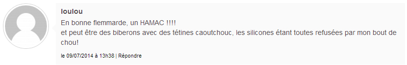 commentaire gagnant Greenweez