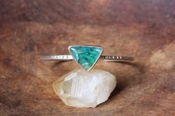 bracelet triangle calcédoine