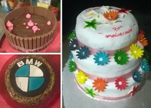pâtisserie gâteaux variés