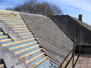 constuire une maison - le toit