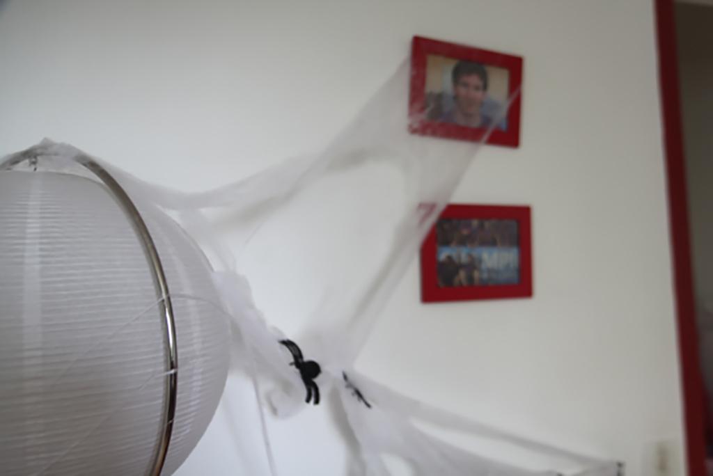 déco Halloween pas cher toile d'araignée