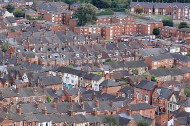 ville en brique rouges - Lincoln - Angleterre