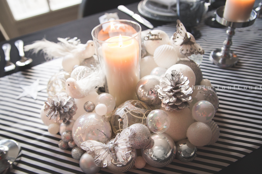 Verre noel table images - Deco de table nouvel an a faire soi meme ...