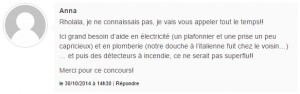 commentaire gagnant concours Hellocasa
