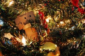 décoration du sapin de Noël Danbo