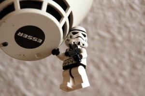 détecteur de fumée personnage de Star Wars