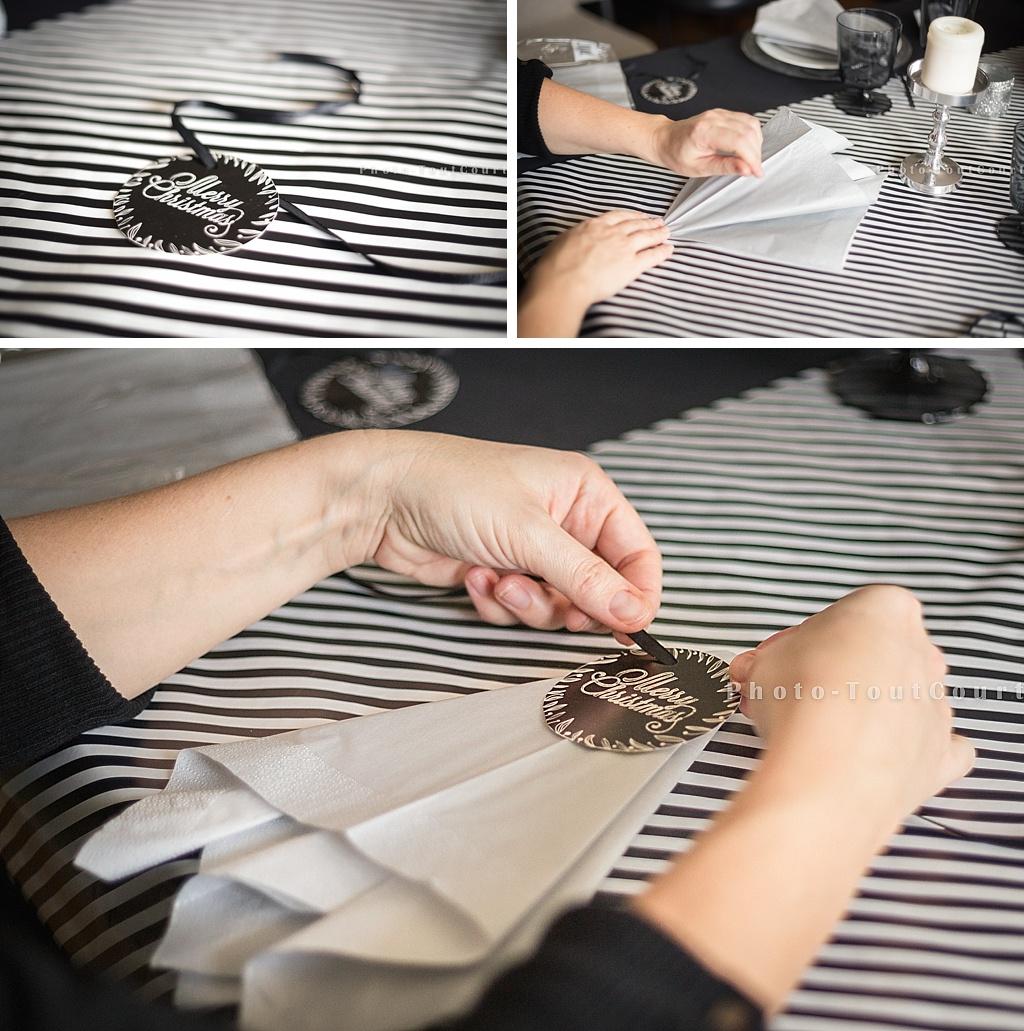 Deco De Table Noir Et Blanc Interesting Affordable Deco De Table