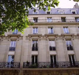 immeuble hausmannien à Paris