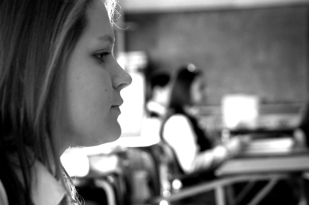 profil jeune fille