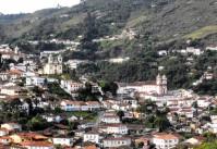 ville Ouro Preto au Brésil
