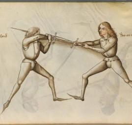 AMHE technique du coup tordu selon Liechtenauer 1467