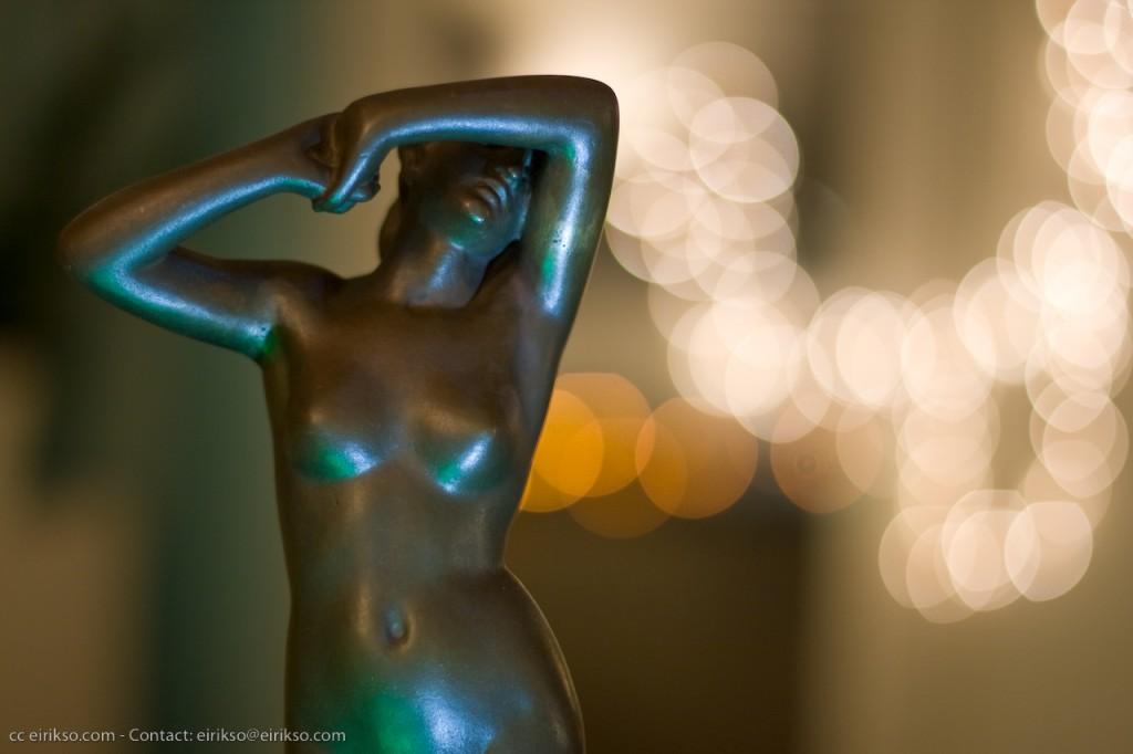 photo statue de nu