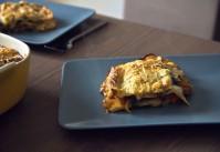 recette lasagnes épinards sauce tomate et champignons