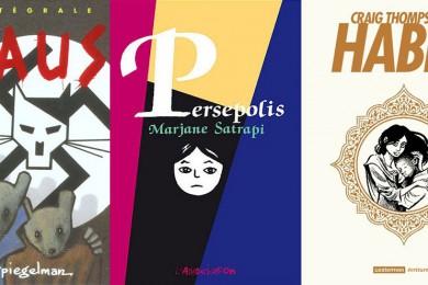 sélection de romans graphiques