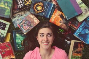 être transporté dans l'imagination des livres