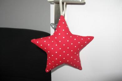 tutoriel DIY étoile en tissu