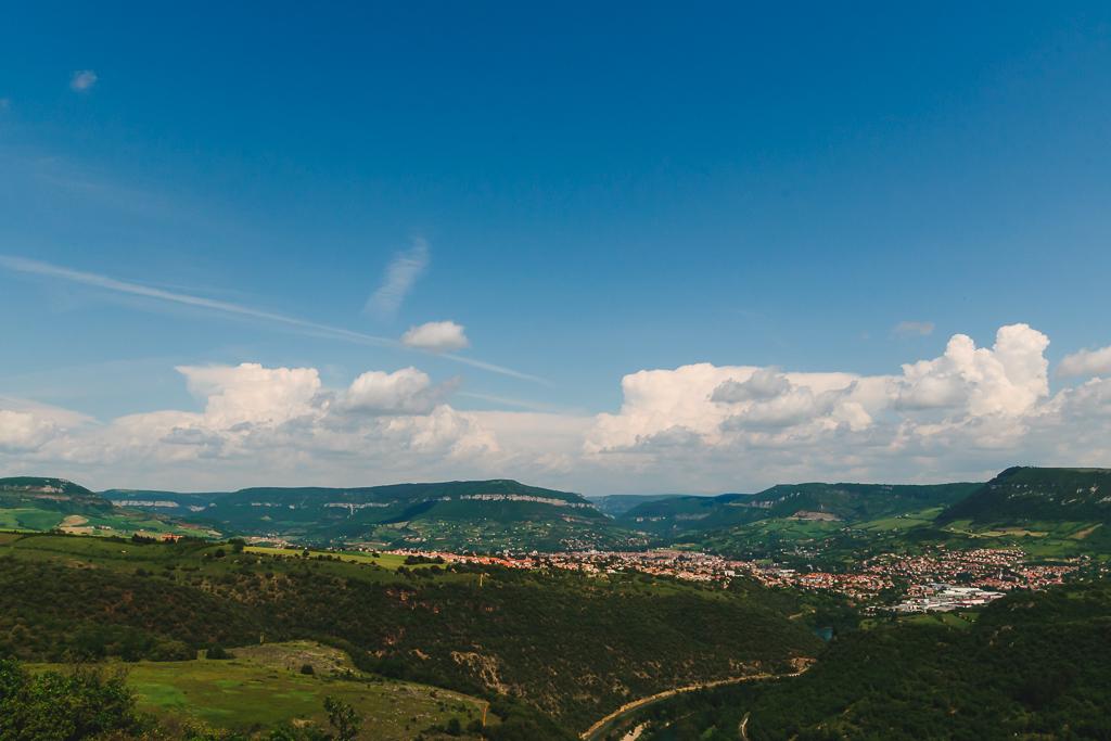 paysage alentours de Millau