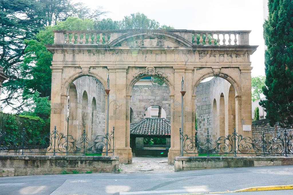 vieille ville de Millau - vestiges gallo-romains