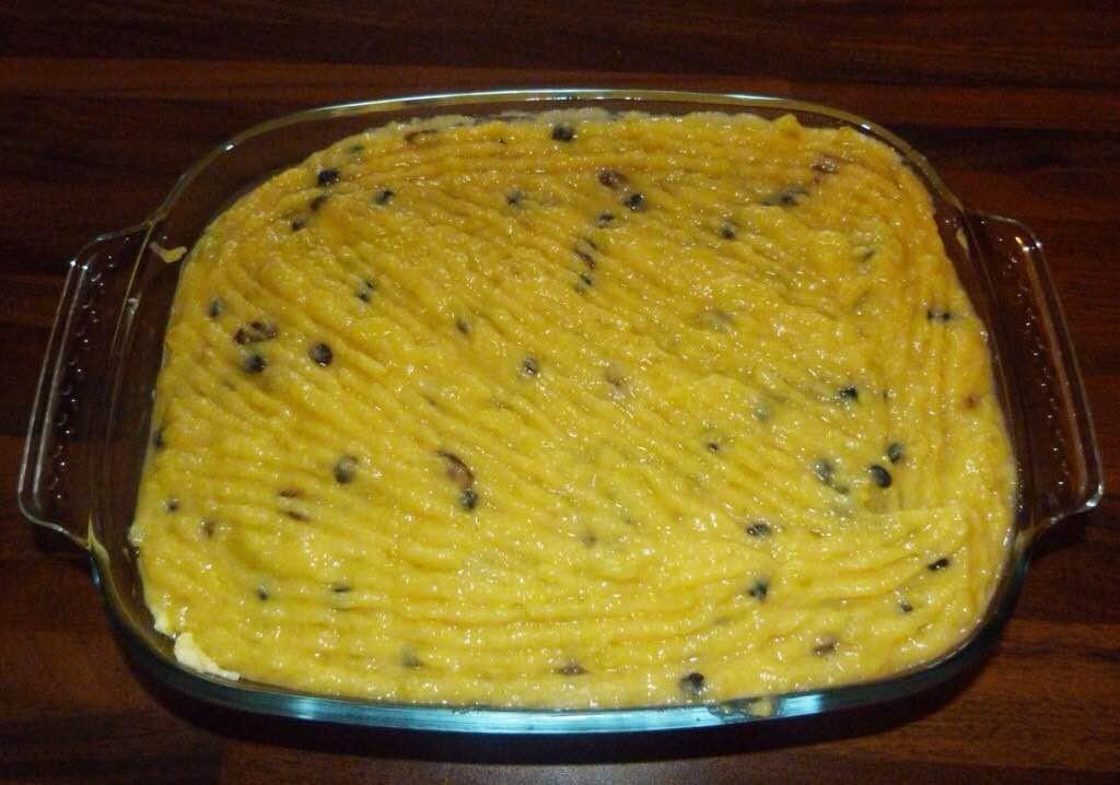 préparation gâteau de patates douces