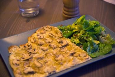 recette flammekueche aux champignons