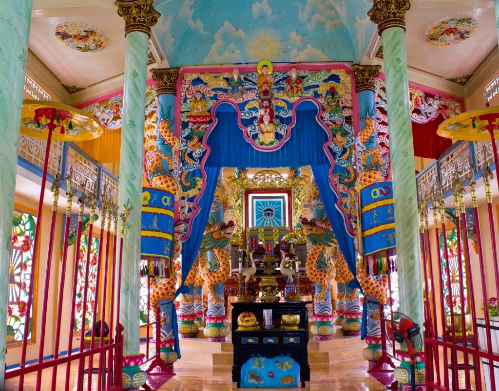 temple caodaiste