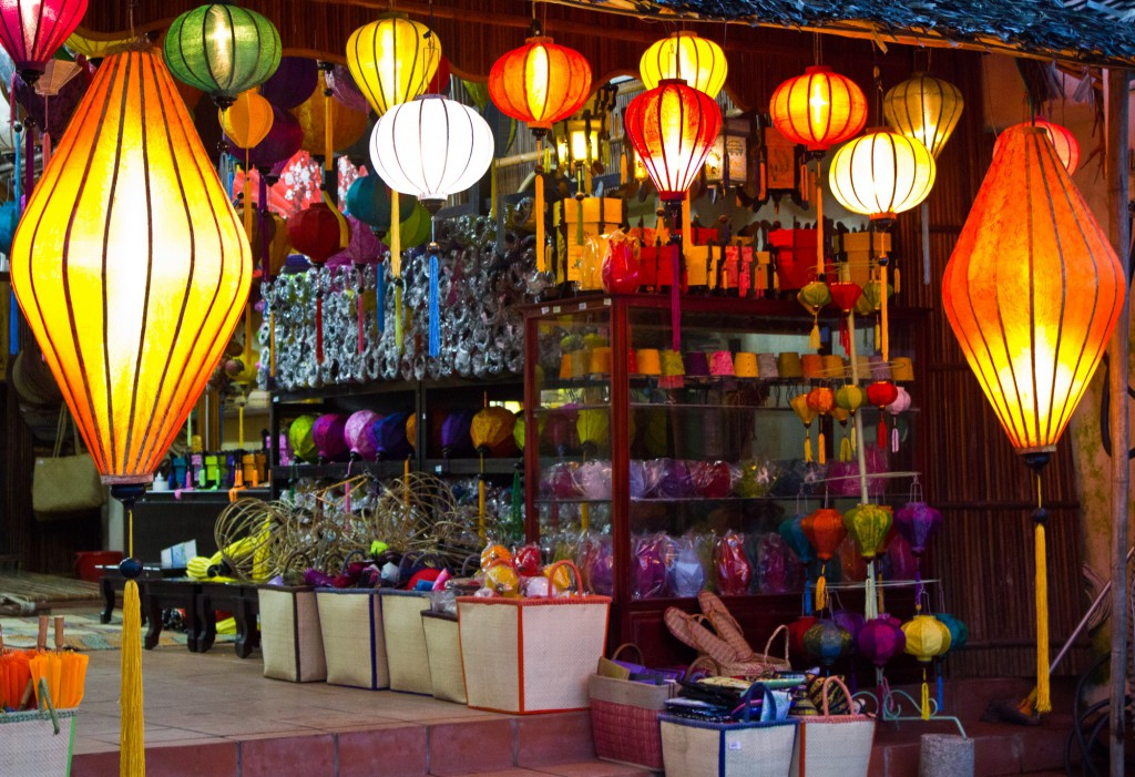Hoi An lampes