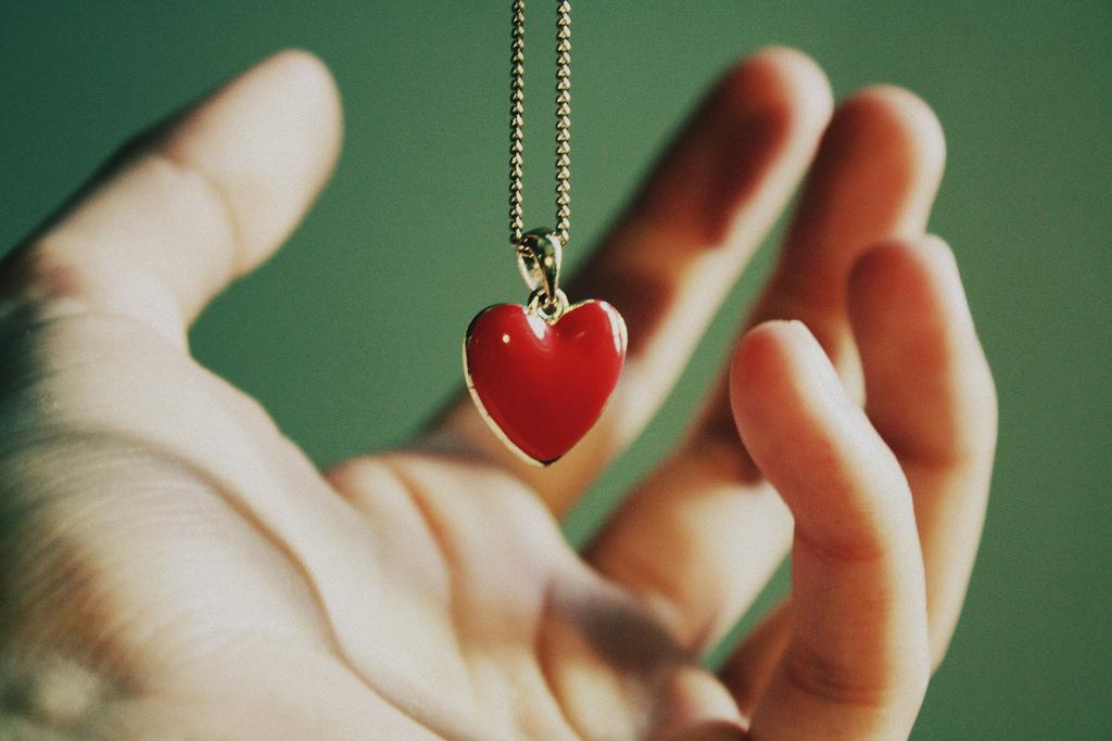 Cœur sur la main