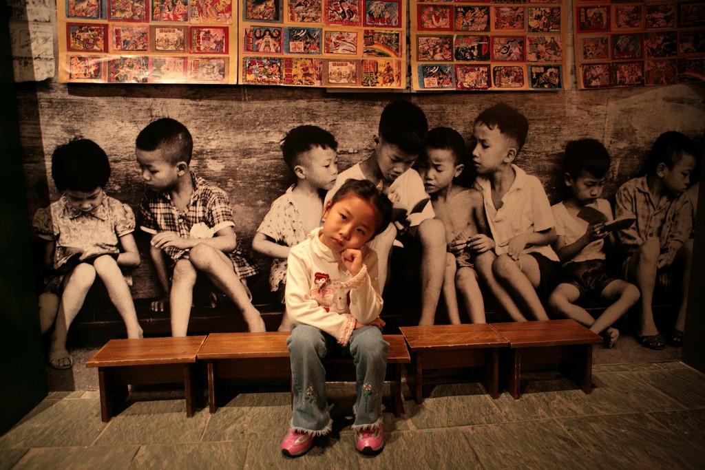 Petite fille seule