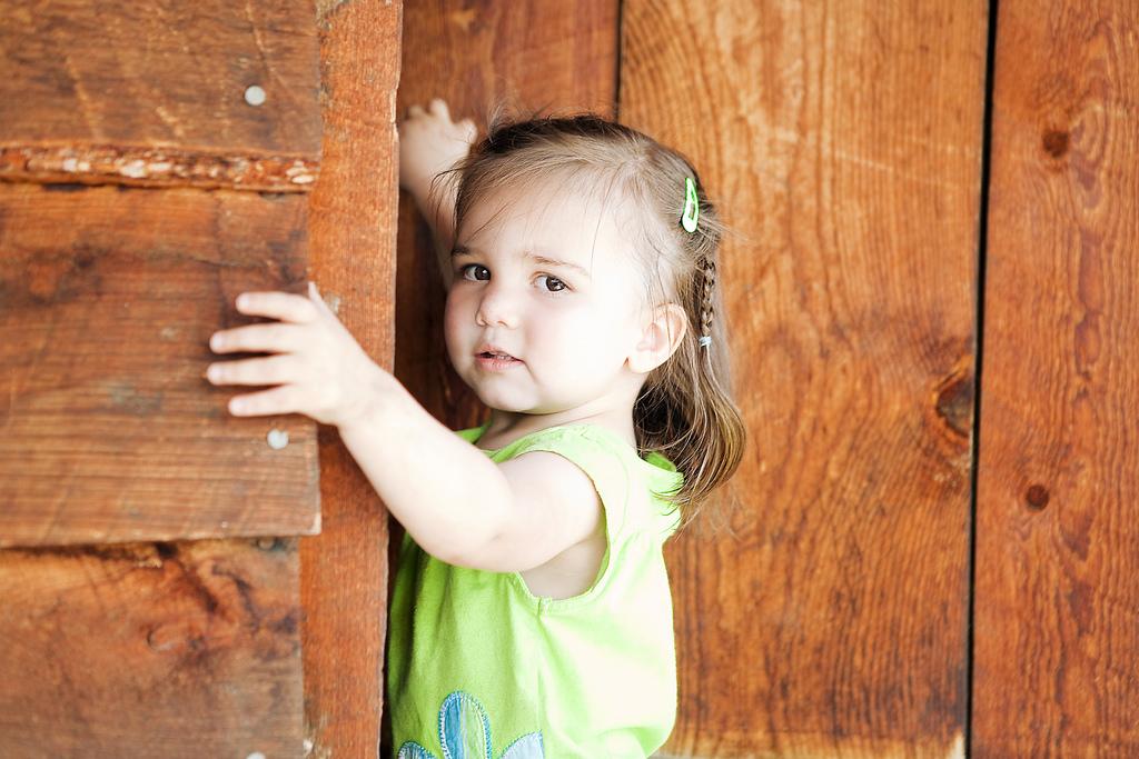photo petite fille - ne pas vouloir être mère