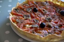 recette : tarte à la tomate facile