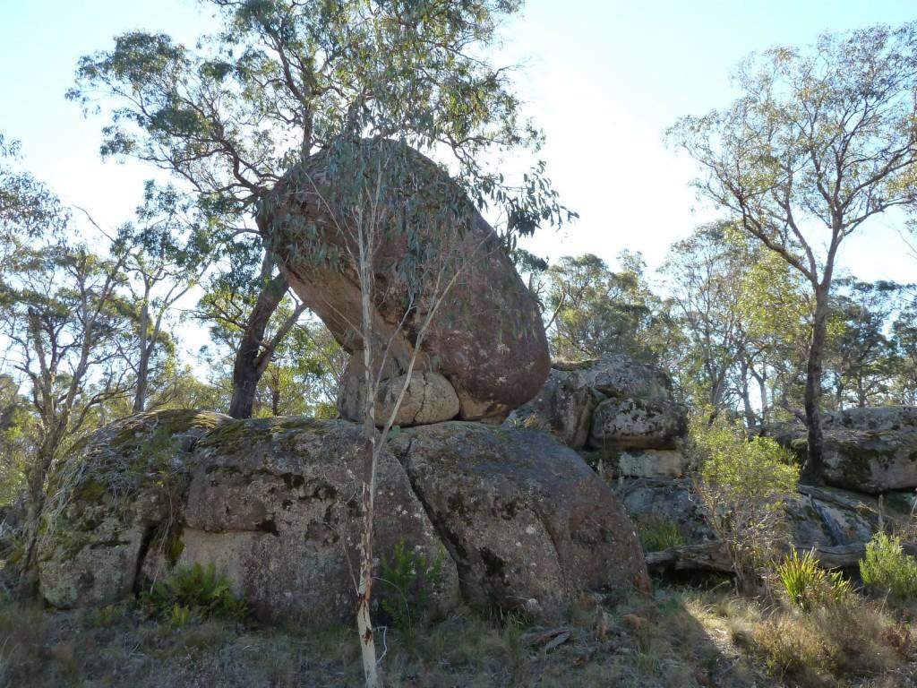 Cathedral Rock et ses rochers en équilibre