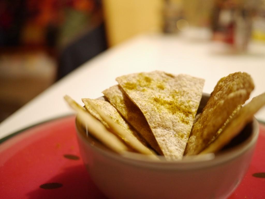 Recette chips de tortilla ultra faciles sous notre toit - Comment faire des tortillas ...