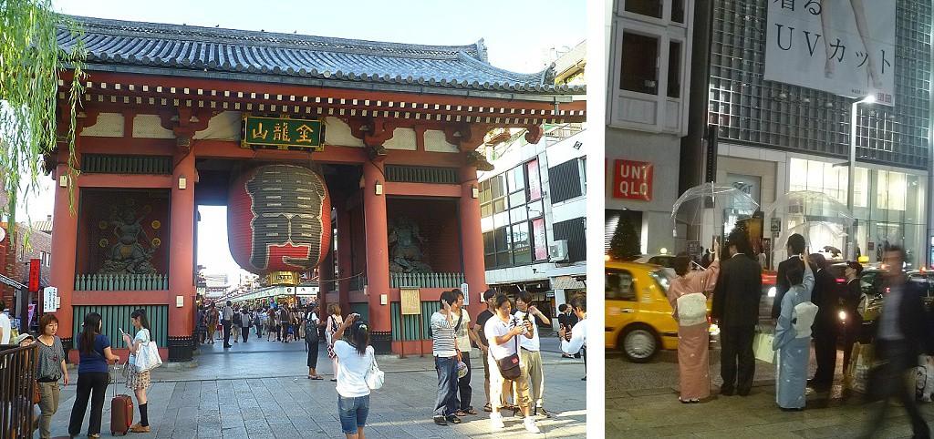 Ville et tradition à Tokyo